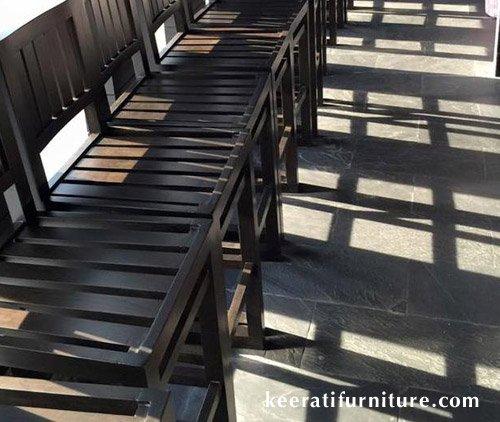 ตัวอย่างการรับผลิตโต๊ะเก้าอี้ไม้